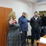 Визит делегации сборной Грузии